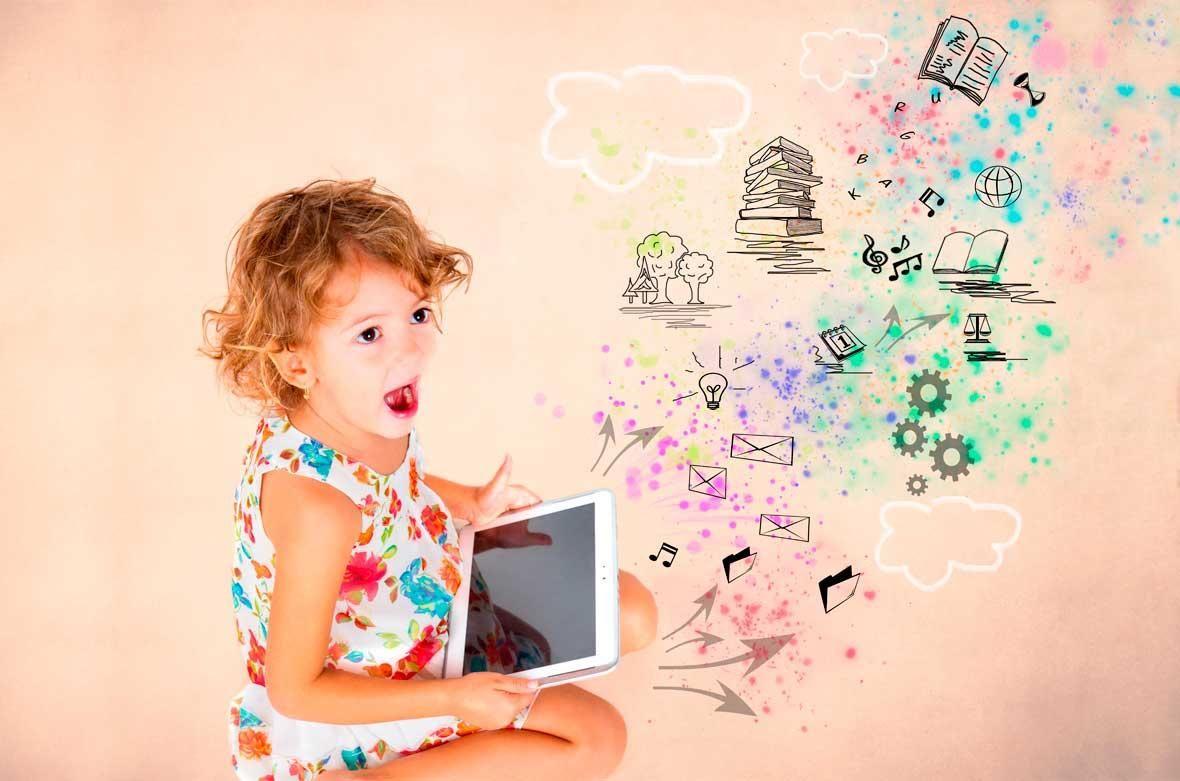 Uso de la tecnologia para niños